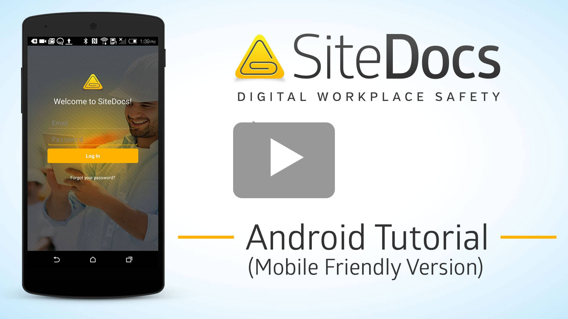 android sitedocs safety app tutorial video