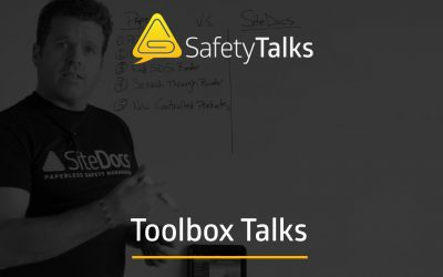 How To Save Time On Toolbox Talks