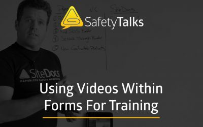 Using Videos For Training