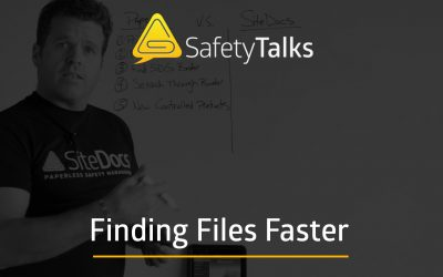 How to find safety documents… in seconds